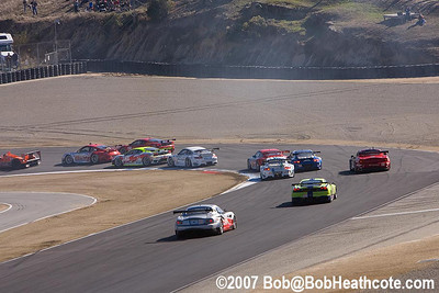 Race start at Turn 2