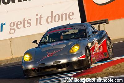 #53 Robertson Racing Panoz Esperante GTLM: David Robertson, Andrea Robertson, David Murry