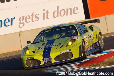 #61 Risi Competizione Ferrari 430 GT: Tracy Krohn, Nic Jonsson