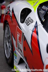 Detail of a Ferrari 430 GT