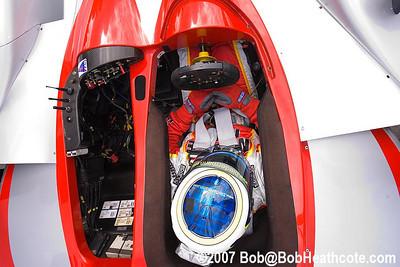 Cockpit of the #06 Lola B0/14