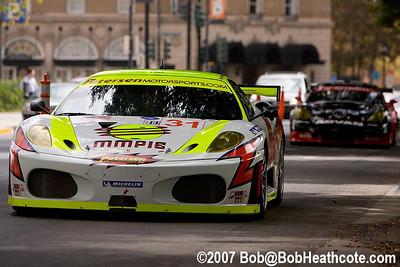 #31 Petersen White Lightning Ferrari 430 GT: Michael Petersen, Peter Dumbreck