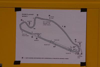 Portland 2007 track map