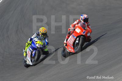Sunday MotoGP meeting at Laguna Seca 2008