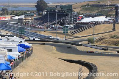 IRL Indycar Sonoma Infineon Raceway 2009