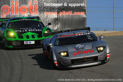 #40 Robertson Racing Doran Design Ford GT: David Robertson, David Murry, Andrea Robertson