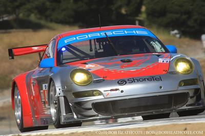 #44 Flying Lizard Motorsports Porsche 911 GT3 RSR: Darren Law, Seth Neiman, Timo Bernhard