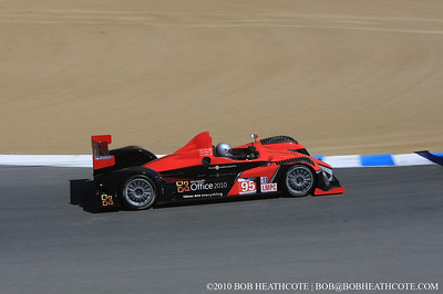 #95 Level 5 Motorsports Oreca FLM09: Scott Tucker, Andy Wallace, Burt Frisselle