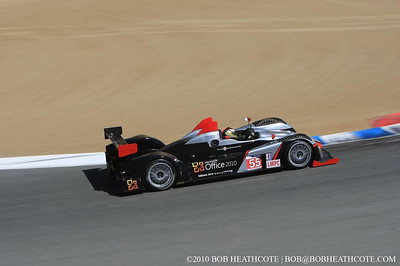 #55 Level 5 Motorsports Oreca FLM09: Scott Tucker, Christophe Bouchut, Mark Wilkins
