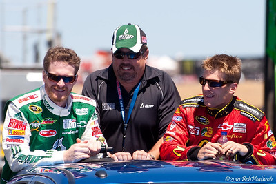 Dale Earnhardt Jr., and Jamie McMurray