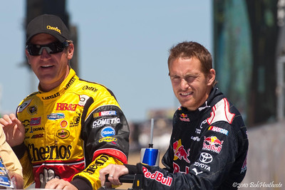 Clint Bowyer and Scott Speed