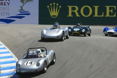 Group 1A Rolex Monterey Motorsports Reunion at Mazda Raceway Laguna Seca 2010