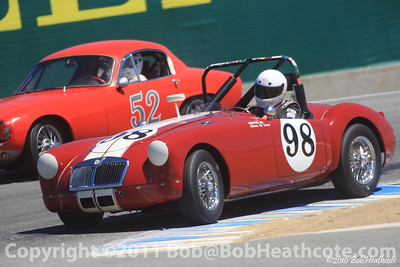 Shawn DeLuna, 1956 MG A