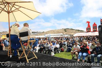 Dan Gurney honored at Rolex Monterey Monterey Reunion 2010