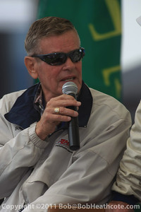 Dan Gurney honored: Bobby Unser speaks about Dan Gurney's cars he drove at Rolex Monterey Monterey Reunion 2010