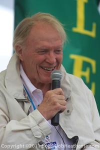 Dan Gurney honored: Dan Gurney at Rolex Monterey Monterey Reunion 2010