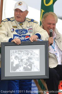 Dan Gurney honored: Dan Gurney recalls past victories at Rolex Monterey Monterey Reunion 2010
