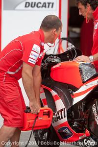 Ducati Team, Ducati Desmosedici GP11