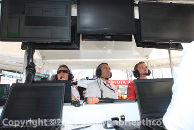 Eric Bachelart and Conquest Racing crew