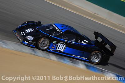 #90 Paul Edwards, Antonio Garcia Chevrolet-Coyote Spirit of Daytona Racing