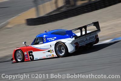 #5 David Donohue, Darren Law Porsche-Riley Action Express Racing