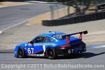 #67 Steven Bertheau Sargent & Lundy Porsche GT3, TRG