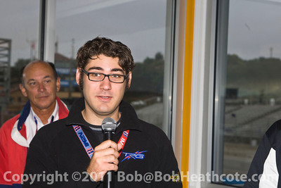 Second Annual American Auto Racing Writers and Broadcasters Driver's Breakfast duriing the 2011 ModSpace American Le Mans Monterey presented by Patrón