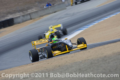 Star Mazda Championship Presented by Goodyear during the 2011 ModSpace American Le Mans Monterey presented by Patrón
