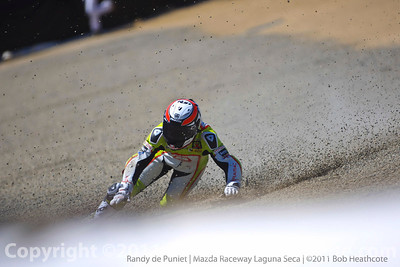 Randy de Puniet crash