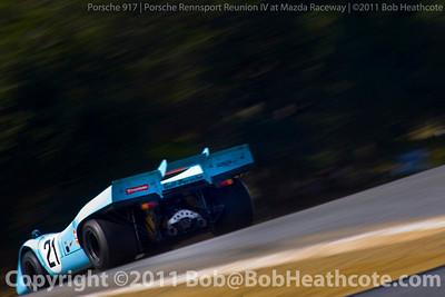 Porsche 917 Rennsport Reunion IV at Mazda Raceway Laguna Seca
