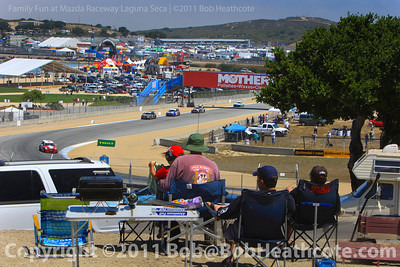 Continental Tire Challenge race action