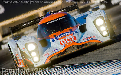 Aston Martin race winner 2011 ModSpace American Le Mans Monterey presented by Patr—n