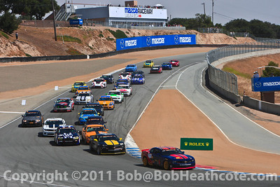 Continental Tire Challenge series race start