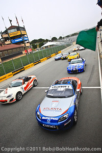 Playboy MX-5 Cup race start