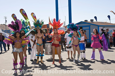 Samba performance prior to the 2011 ModSpace American Le Mans Monterey presented by Patrón