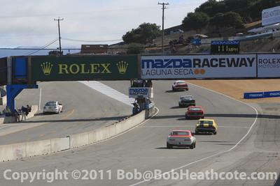 2011 Rolex Monterey Motorsports Reunion at Mazda Raceway Laguna Seca Saturday