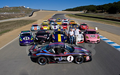 Porsche Cayman InterSeries group photo