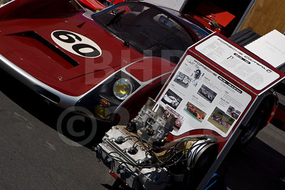 Porsche 906 and engine