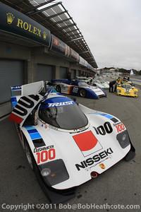 2011 Rolex Monterey Motorsports Reunion at Mazda Raceway Laguna Seca Sunday