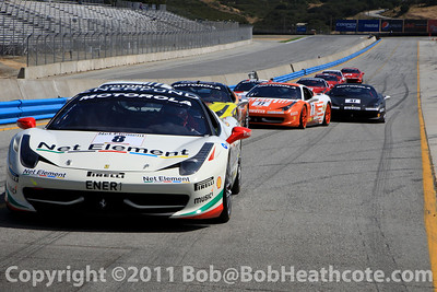2011 Ferrari Racing Days at Mazda Raceway Laguna Seca