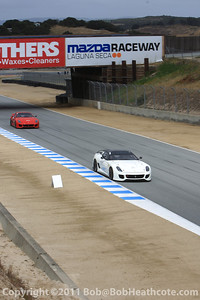 Ferrari FXX and 599xx demonstration cars