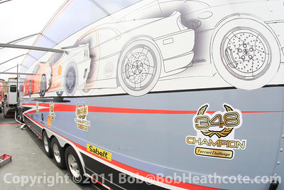Ferrari Challenge transporter