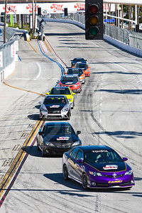 Pace cars 38th Annual Toyota Grand Prix of Long Beach