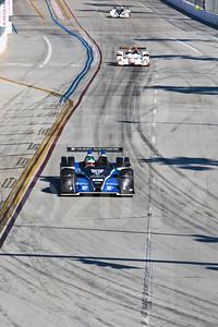 #52 PR1 Mathiasen Motorsports Oreca FLM09: Butch Leitzinger, Rudy Junco, 38th Annual Toyota Grand Prix of Long Beach
