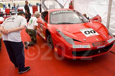 #00 Ferrari of Houston Ferrari 458 Challenge: Owen Kratz