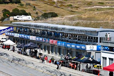 Ferrari 458 Challenge pit lane