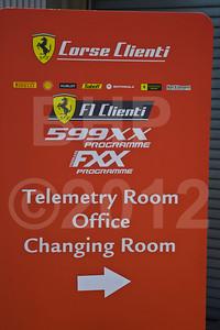 Postcard from 2012 Ferrari Racing Days at Mazda Raceway Laguna Seca