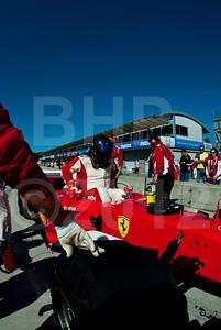 Bud Moeller Ferrari 2003-GA historic Formula 1 car