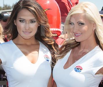Race Sonoma Girls Mariah Longo and Ashley Noelle