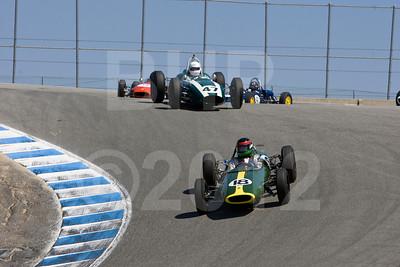 Monterey Pre-Reunion Group 4 1958-1963 Formula Junior Cars